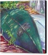 Summerime Overturned Canvas Print