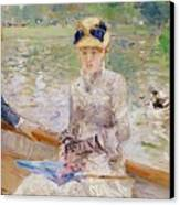 Summers Day Canvas Print by Berthe Morisot