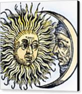 Sun And Moon, 1493 Canvas Print