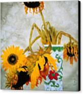 Sun Flowers No.1  Canvas Print