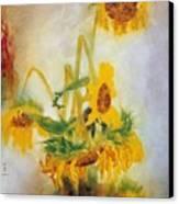Sun Flowers No.2 Canvas Print