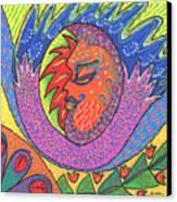 Sun Man Canvas Print