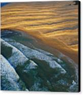 Sun Rise Coast  Canvas Print