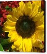 Sunflower Boquet Canvas Print