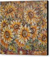 Sunlight Bouquet. Canvas Print
