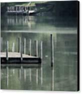 Sunlit Dock Canvas Print