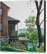 Sunlit Steps Canvas Print