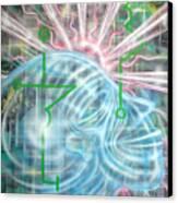 Sunrise Aia Canvas Print
