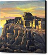 Sunrise Citadel Canvas Print