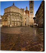 Sunrise In Florence 2 Canvas Print