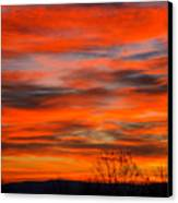 Sunrise In Ithaca Canvas Print by Paul Ge