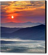 Sunrise On The Parkway. Canvas Print