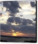 Sunset 0046 Canvas Print