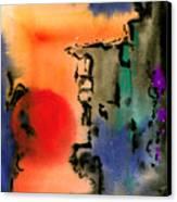 Sunset At Nikko Canvas Print