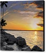 Sunset Caribe Canvas Print by Stephen Anderson