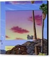 Sunset Door Canvas Print