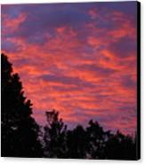 Sunset In Antioch Canvas Print