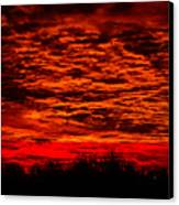 Sunset Of New Mexico Canvas Print by Savannah Fonner
