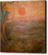 Sunset Rev. Canvas Print