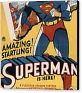 Superman, 1941 Canvas Print by Everett