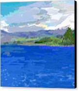 Sur De Chile Encanto Canvas Print by Carlos Camus