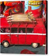 Surf Bus Canvas Print