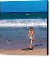 Surf Up Canvas Print