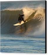 Surfing 80 Canvas Print by Joyce StJames