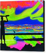 Surfscape Dreaming Canvas Print