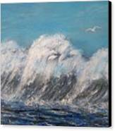 Surreal Tsunami Canvas Print