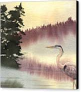 Surveyor Of The Morning Canvas Print