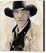 Suspicious Canvas Print by Debra Jones