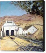 Sutro Nevada Canvas Print by Evelyne Boynton Grierson