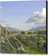 Swallow Bay Cliffs Canvas Print