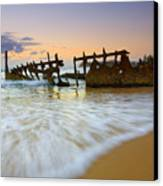 Swallowed By The Tides Canvas Print