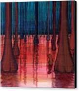 Swamp Veins Canvas Print