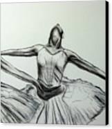 Swans Canvas Print