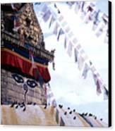Swayambhunath II Canvas Print