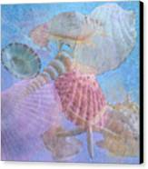 Swept Out With The Tide Canvas Print by Betty LaRue