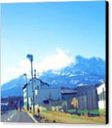 Swiss Road Canvas Print