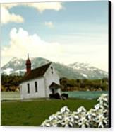 Swiss Spring Version 3 Canvas Print