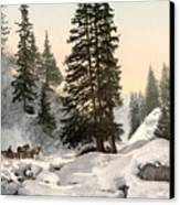 Switzerland: Davos, C1895 Canvas Print