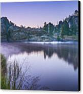 Sylvan Sunset Canvas Print