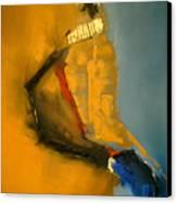 Sympathetic Blue Hue Canvas Print