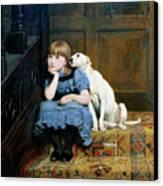 Sympathy Canvas Print by Briton Riviere