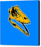 T-rex Graphic Canvas Print by Pixel  Chimp
