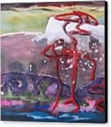 Table Land3 Canvas Print
