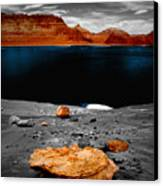 Tabletop Boulder Lake Powell Canvas Print