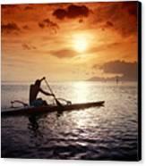 Tahiti, Papeete Canvas Print