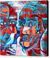Take Care  My Love Canvas Print